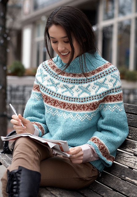Park Place Pullovers by Bernat Design Studio (Ravelry) Bernat #530215, Urban Knits
