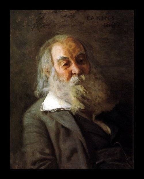 Walt Whitman, by Thomas Eakins