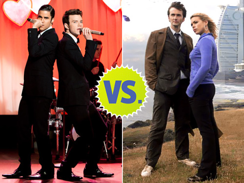 entertainmentweekly:  And so it's come to this: a battle of America vs. England, teenagers vs. adults (slash immortal Time Lords), powerful fandom vs. powerful fandom. Shippers, on your marks… get set… VOTE!