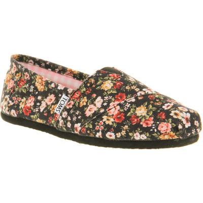 shaydaydreamer:  Toms Seasonal classic slip on pewter sequin   ❤ liked on Polyvore (see more arch support shoes)