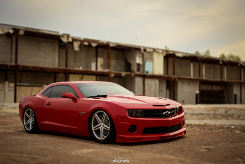 theautobible:  Ricardo's bagged Camaro SS by tjacang on Flickr. TheAutoBible.Com I like'em low