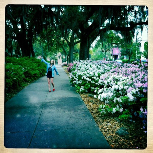 bring it on, spring. also, savannah, you're pretty.