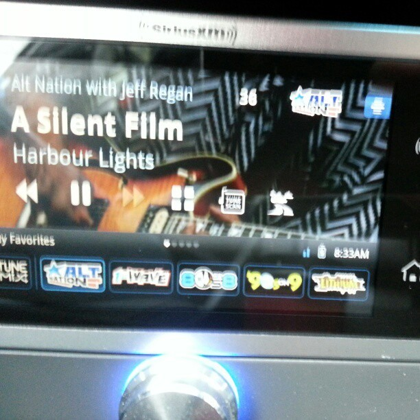 $ Commuting. #HarbourLights #alt18 #asilentfilm @altnation #ermahgerd @siriusXM #Lynx