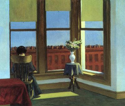 nevver: Room in Brooklyn, Edward Hopper