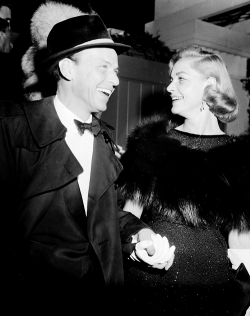 fuckyesoldhollywood:  Frank Sinatra and Lauren Bacall It is so weird to me that they dated.