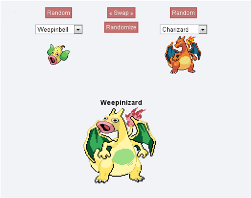tinnyhouse:  i shit you fucking not i got weepinzard first try and now i can't stop laughing at his dumb face and his dumb name