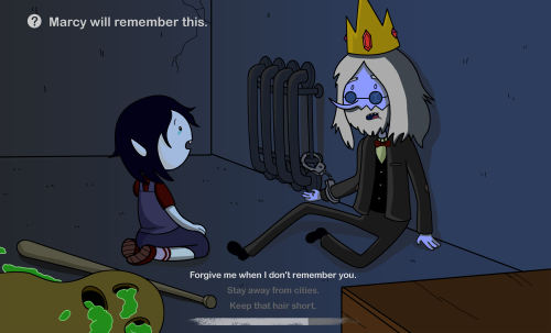 lesbianpokemontrainer:  moringmark:  Marcy will remember this.  OH GOD NO