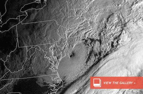 What's a Nor'easter?  A nor'easter is a type of cyclone that can pack hurricane force winds and dump torrents of rain or feet of snow. Cyclonic storms, including nor'easters and typhoons, form around low pressure systems in the atmosphere. Unlike their tropical typhoon cousins, nor'easters are fueled by cold air.  Read more