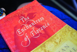 "Now Reading: The Enchantress of Florence by Salman Rushdie""…the story of a mysterious woman, a great beauty believed to possess the powers of enchantment and sorcery, attempting to command her own destiny in a man's world. It is the story of two cities at the height of their powers - the hedonistic Mughal capital, in which the brilliant emperor Akbar the Great wrestles daily with questions of belief, desire, and the treachery of his sons, and the equally sensual city of Florence during the High Renaissance, where Niccolo Machiavelli takes a starring role as he learns, the hard way, about the true brutality of power…"""