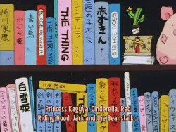rosesandsparkles:  lafranziska:  Yuu has an…interesting taste in books.  Creamy Mami read Blade Runner :D  Blade Runner, The Thing, etc.