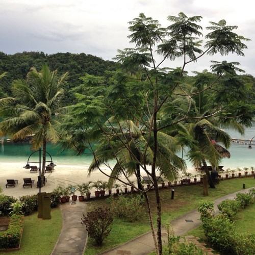 View from my room for the next two weeks. (at Palau Royal Resort)
