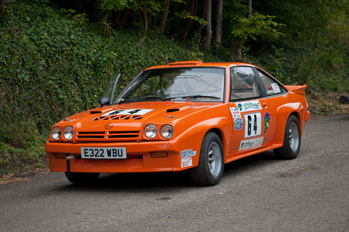 Properly carved Starring: Opel Manta (by <p&p>)