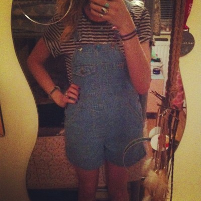 my dungarees are soooo cute