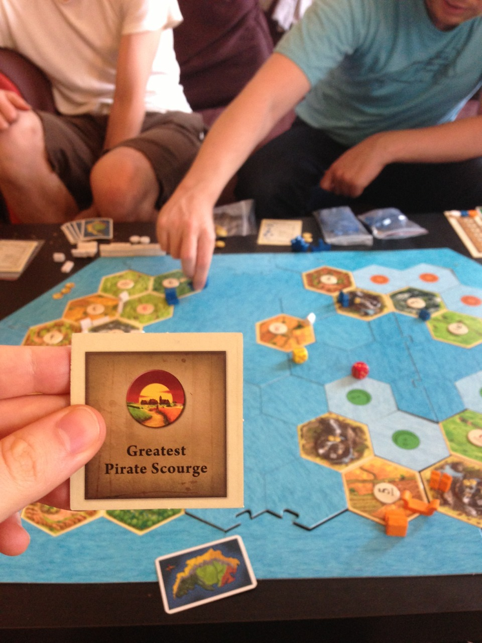 jeffrubinjeffrubin:  Pirates & Explorers, the new Catan expansion.