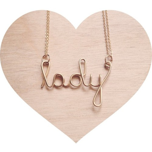 For a fancy lady! (custom necklaces available too!)