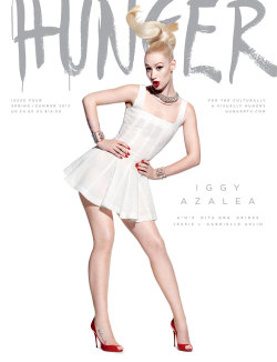 welcometoross:  Iggy Azalea - Hunger Magazine - Spring/Summer 2013