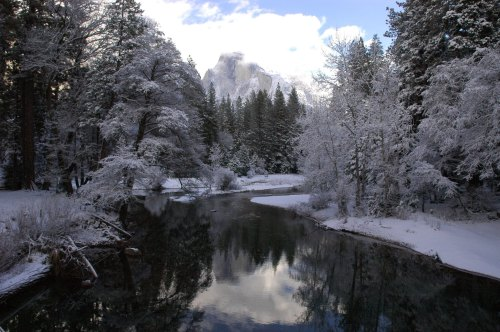 Yosemite National Park is just as beautiful in the winter as it is in warmer months.Photo: National Park Service