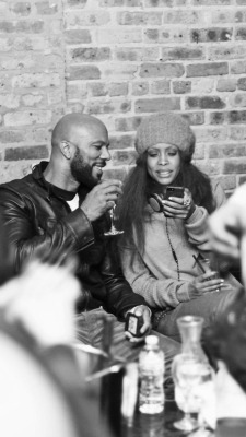 brownskinshaggedoutfro:  Common&Badu