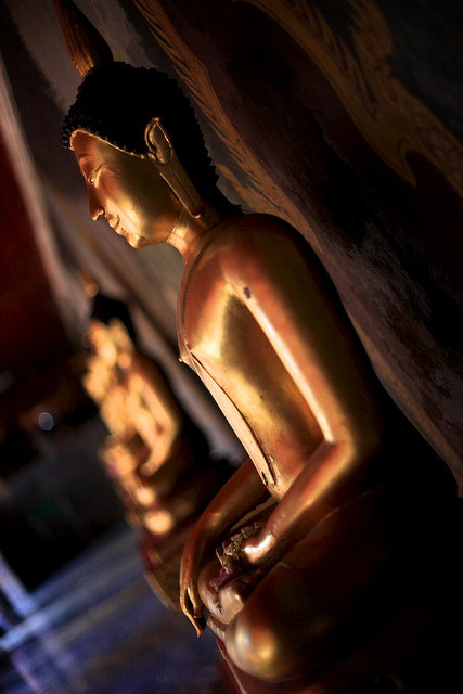 lotusunfurled:  Statue of Buddha, Doi Suthep by JY7088 on Flickr.