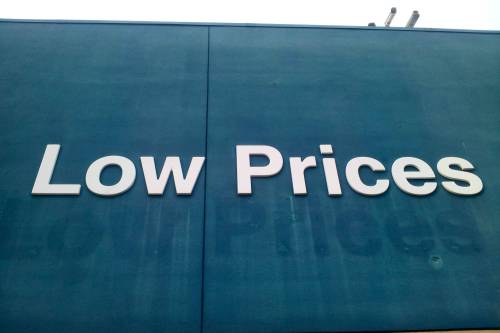 pleatedjeans:  Looks like Walmart raised its low prices. via