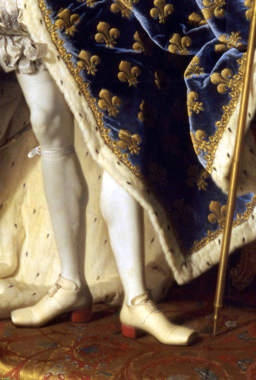 66lanvin:Detail from Portrait of Louis XV of France (1730) Hyacinthe Rigaud. DANDYISM……….No.33