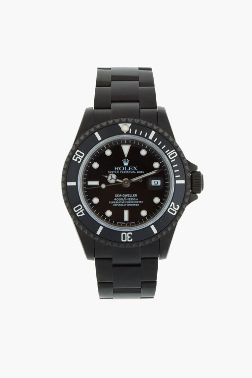 does anyone have $25K laying around?  rolex black limited edition.