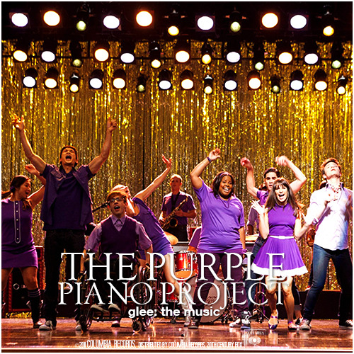 Glee: The Music, The Purple Piano Project Requested Alternative Album Cover Request by thes0undofdrums