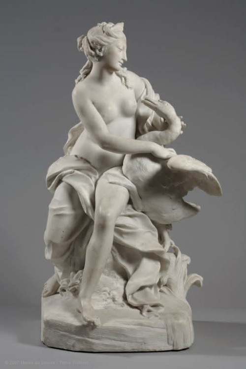 centuriespast:  Jean THIERRY (Lyon, 1669 - Lyon, 1739)  Leda and the Swan