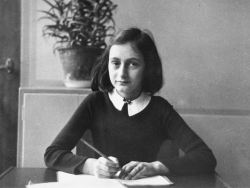 timidgeek:  Anne Frank, age 13