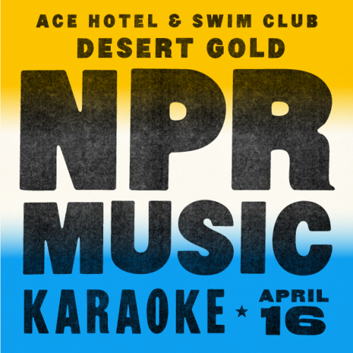 NPR Music is making their first venture out to the Western desert in their five years of existence, and making Ace Palm Springs their homebase during Coachella and Desert Gold. They're doing field recordings in the area and capturing impromptu poolside recordings with artists staying with us during Desert Gold, and shooting some video. Tonight, they host karaoke in the Amigo Room with guests like Third Man Records, Warp Records, Modular, We Are Free and Stereogum, and we hope to see you on the mic as well. See the full Desert Gold schedule and get a room.