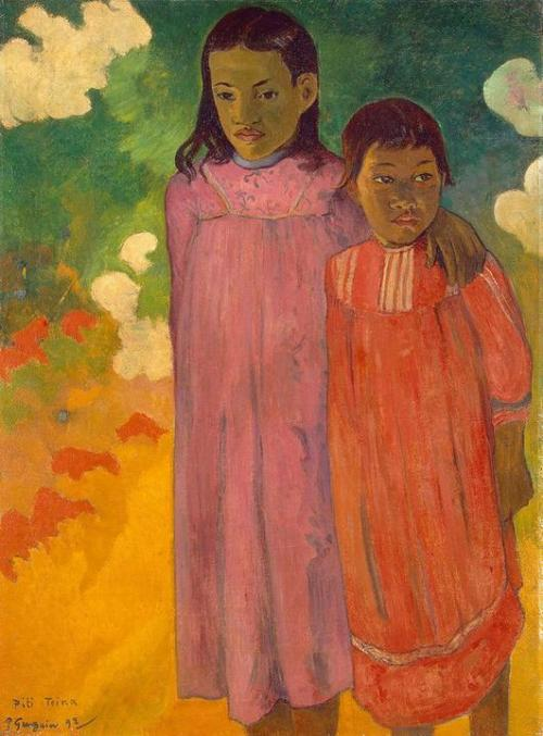 Paul Gauguin, 1892, Piti Tiena