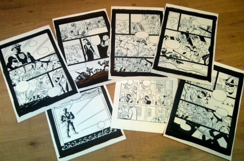 I'll be selling original art from my True Patriot story for the first time at TCAF this weekend, probably for somewhere in the $200 range. There's only a few pages, so get 'em while you can.