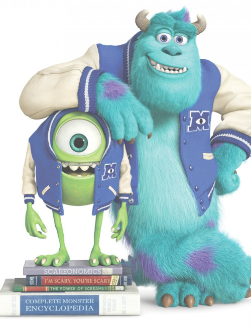 Mike Wasowski and Jame P. Sullivan.