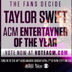 iconicswift:  #vote for #taylorswift :)