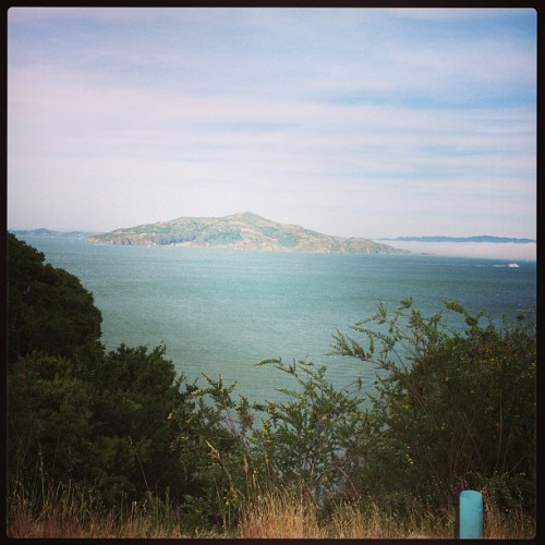 Angel Island from Sausalito