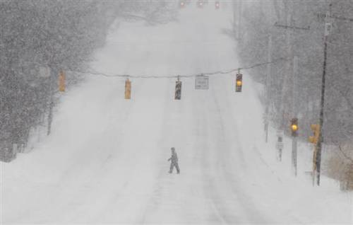 BREAKING: 9 deaths from Northeast blizzard confirmed, including 5 in Connecticut (Photo: Winslow Townson / AP) A gusting winter storm buried parts of the Northeast under 3 feet of snow and left millions of people with little to do Saturday but wait — for lights to come on, flights to resume and packed-in cars to be freed. Read the complete story.