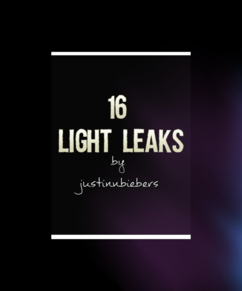 justinnbiebers:  DOWNLOAD  I guess you could call these light leaks? I made them with photoshop, but they do work the same as light leak textures do. I made a variety of different colors and sizes. They work best if you set them to screen. It's in a normal .psd file because I was too lazy to save them all individually and zip them and whatnot. You may notice a weird grainy texture on them, but don't worry, that'll go away when you set the blending mode. A like is not necessary but would certainly be appreciated! Enjoy!