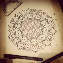 Evolution ☺ #tattoodesign #mandala