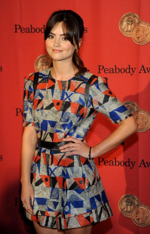 fuckyeahhotactress:  Jenna-Louise Coleman | 72nd Annual George Foster Peabody Awards in New York - May 20, 2013
