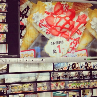 Editing another Japan vlog! #japan #shizuoka #food