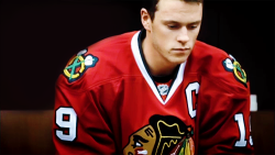 "bruins-problems:   According to teammates Toews would address the media—a captain's duty—but then stay in his equipment for another 20 or 30 minutes, mute, processing the game. ""I'd shower, get my suit on, be ready to leave, and he'd still be there in full gear,"" Burish says. ""I'd say, 'Jonathan, let it go, it's all right.' He'd say, 'That's not how a captain is supposed to play.' I'd say, 'You want to catch dinner, the guys are going?' and he'd say, 'I don't deserve to go.'""     I respect Toews so much."