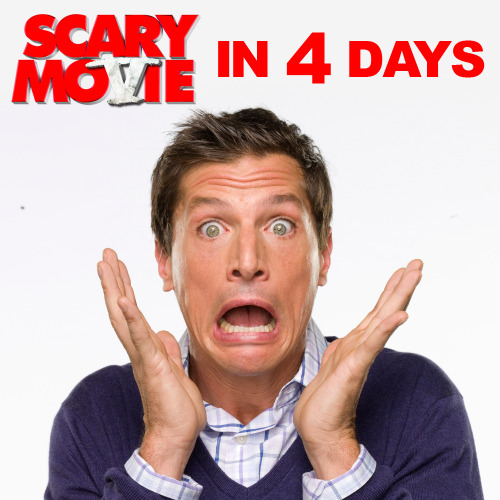 Scary Movie 5 is only 4 days away! LIKE and SHARE if you're pumped to see Dirt Nasty aka Simon Rex back in a Scary Movie!