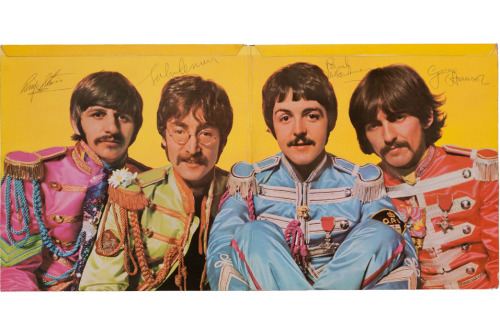 "Beatles ""Sgt. Pepper's Lonely Hearts Club Band"" album sells for $290,500 at auction"