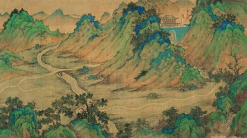 The Mongolia Mountain and Water Map: Fu Xinian first suggested that the 30-meter long 16th century landscape painting of roads, mountains, buildings, and water was actually a map in 2002. Lin Meicun has been studying the map since 2004. Last year, Lin published a book explaining the 211 labeled places from Jiayuguan Pass west to Tianfang (Mecca) in Saudi Arabia found on the map. The information was probably based on knowledge gained by the Mongol Empire. Block-printed versions of the map were sold during the Ming Dynasty.