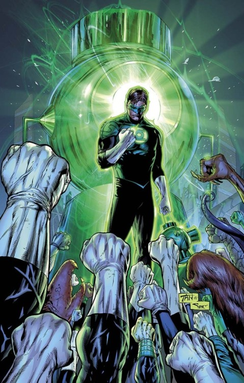 GREEN LANTERN #21Written by ROBERT VENDITTIArt and cover by BILLY TAN1:25 Variant cover by RAGS MORALESOn sale JUNE 5 • 32 pg, FC, $2.99 US • RATED TCombo pack edition: $3.99 USHal Jordan becomes the leader of the most feared and hated group in the universe: The Green Lantern Corps! New faces, new threats and a new beginning for the GREEN LANTERN monthlies!This issue is also offered as a combo pack edition with a redemption code for a digital download of this issue