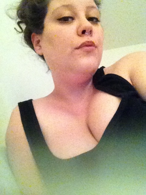 Trying to look sultry…did it work?