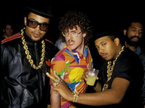 hiphopfightsback:  Run-DMC & Weird Al  Weird Al - the Original Hipster