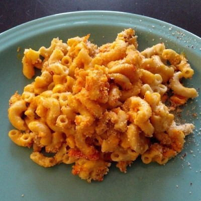 Mac and cheese. #vegan #whatveganseat