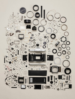"Todd McLellan's Disassembled Design Objects, Now in Book and Video Formcore77.com Plenty of us were taken aback by Todd McLellan's ""Things Come Apart"" photo series, where he disassembled a variety of everyday objects and laid all the parts bare. Now the Toronto-based shooter has gathered teardown photos of 50 design classics, f…  I would love to drop a camera and have it end up looking like this"