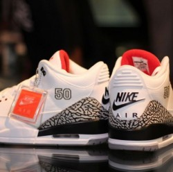 "Air Jordan III '88 Retro ""MJ50″ via sneakernews.com"